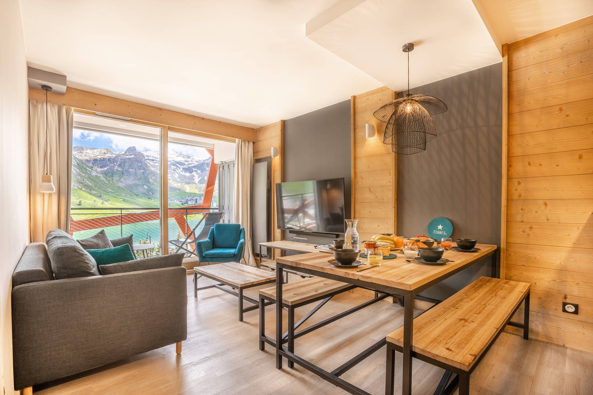 2 beds Apartment Holiday rental in Tignes - Le Lac ...